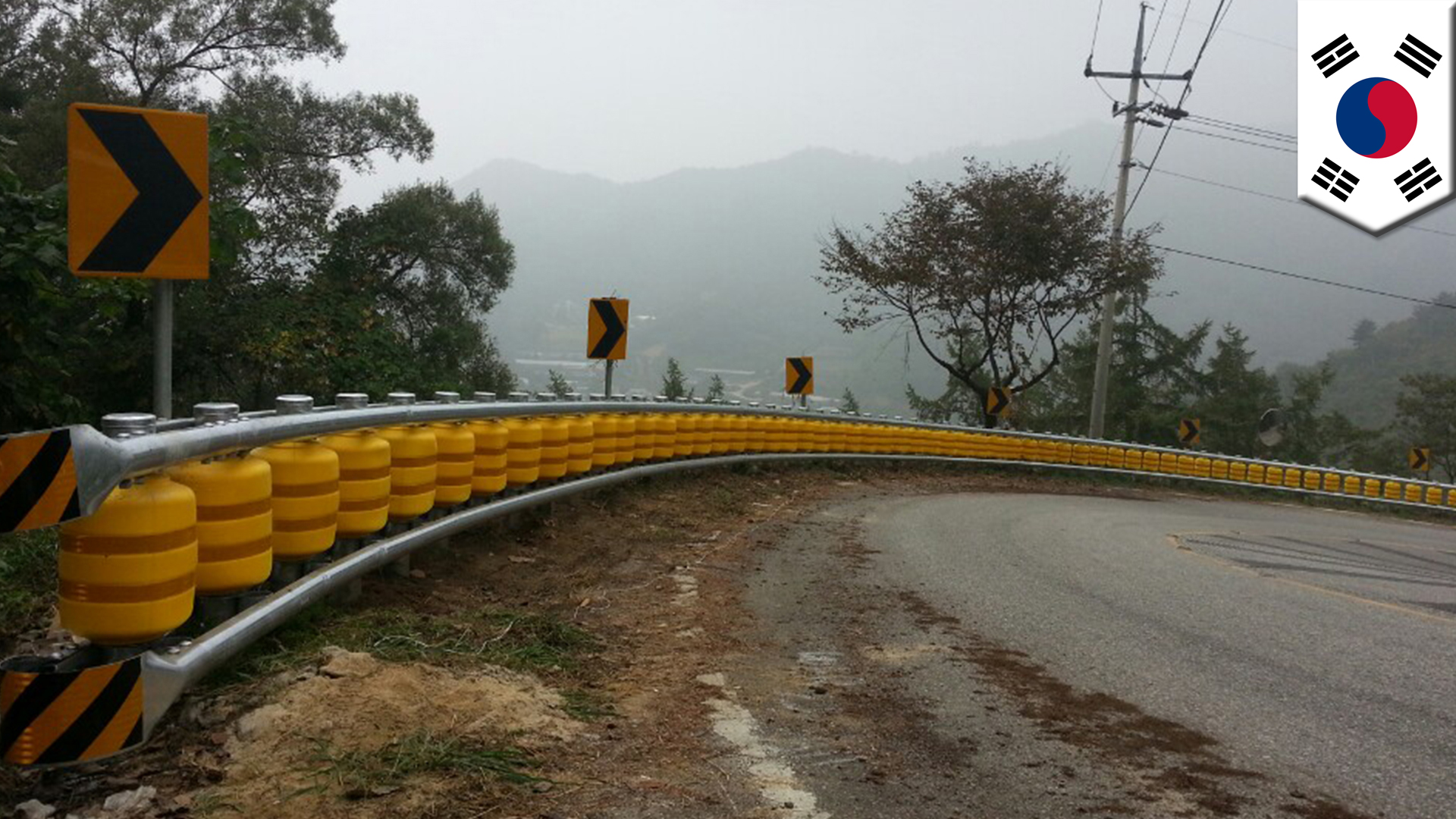 South Korea company designs rolling guardrail that could save lives in auto accidents