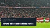 Minute de silence dans les stades allemands