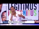 """Pascal LEGITIMUS : """"Je suis un inconnu qui délire"""""""