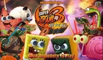 Spongebob in Real Life, Patrick Star, and Kung Fu Panda in Real Life (Po) Super Brawl 3 Game!