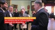 Dix-sept tableaux de maîtres volés dans un musée à Vérone restitués à l'Italie
