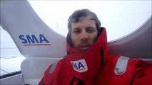 J46 : Paul Meilhat fait route vers le Nord / Vendée Globe