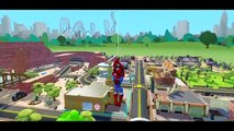 Lightning McQueen Color Spiderman&Avengers cartoon action Nursery Rhymes McQueen Songs for Kids