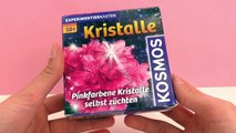 Kosmos Experiment Kit - Grow crystals - Unboxing and Demo