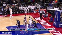 Hilarious - Marc Gasol Crashes Into Stan Van Gundy - Grizzlies vs Pistons - December 21,  2016 NBA UHD