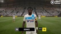 FIFA 17 : les visages et les notes de l'OM