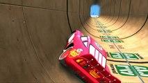La Reine des Neiges et Spiderman présentent le jeux vidéo de courses de voitures Cars