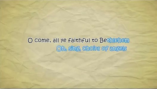 Pentatonix - O Come, All Ye Faithful (Lyrics) - Vidéo Dailymotion