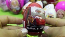GIANT Kinder SURPRISE EGG Biggest Barbie Cars 2 Toy Story HELLO KITTY spiderman Disney eggs Thomas