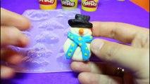Easy Christmas Decorations -Santa Klaus - Christmas Angel -Snowman (Play Doh)