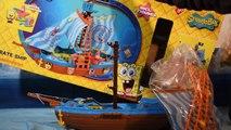 Spongebob Pirate Ship ⋆ Bob lEponge Bateau Pirate ⋆ Bob esponja Barco Pirata