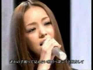 """amuro namie """"baby don't cry"""""""