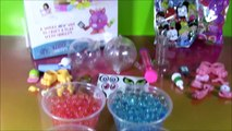 Orbeez Crush Crushkins Pets! Decorate Puppy and Kitty! Surprise Blind Bags! SHOPKINS Eraser!