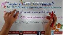 6. Sınıf Matematik Yazılıda Nasıl Sorular Gelir?-1 (CYT)   www.ogretmenburada.com