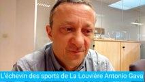 L'échevin des sports louviérois Antonio Gava parle de son sport
