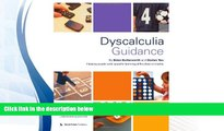Read Online Dyscalculia Guidance: Helping Pupils with Specific Learning Difficulties in Maths