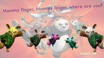 Kung Fu Panda Finger Family - Song Daddy Finger Nursery Rhymes - kids songs