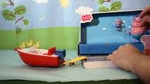 PEPPA PIG Splash Speedboat ♥ Le Bateau Hors-Bord des Vacances ♥ Peppa Pig Vehículo de aventuras