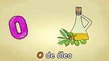 Alfabeto para crianças - O-Canção - O Alfabeto em português - canções infantis   Portuguese O -Song