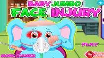 Baby Jumbo Face Injury | Baby Jumbo Doctor Game - Baby Games To Play