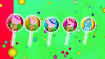 Peppa Ninja Turtles Lollipop Finger Family / Nursery Rhymes and More Lyrics