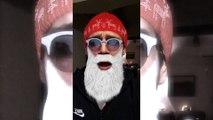 Effets Snapchat fêtes de Noël