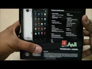 iball Andi 4.5d quadro Unboxing and Hands on Review