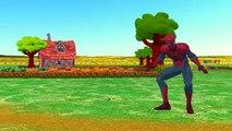 Spiderman Batman Cartoons Baa Baa Black Sheep Nursery Rhymes for Children | Chil