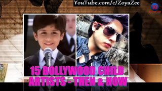 Top 15 bollywood child actors then and now - 2016