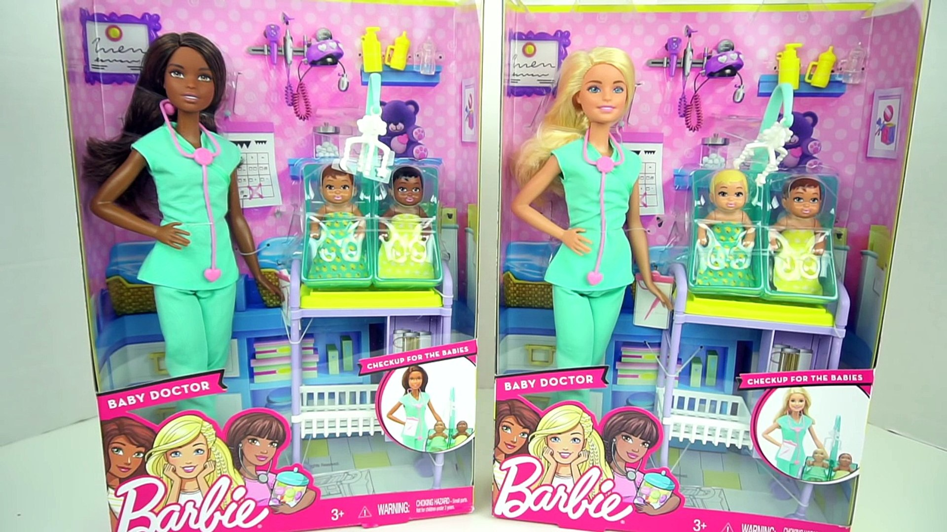 Armonioso Cooperación Examinar detenidamente  Barbie Doctora de Bebes Cuida a Recien Nacidos con Dr. Elsa y Anna -  Juguetes de Titi - Vidéo Dailymotion