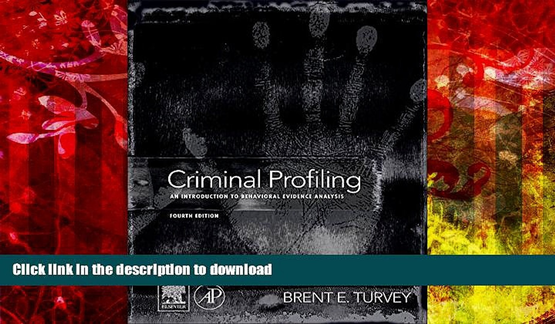 PDF [FREE] DOWNLOAD Criminal Profiling, Fourth Edition: An