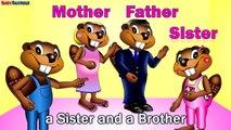 The Family Song CLIP - Kids English Language Learning, ESL, EFL, Teach Children Nursery Rhymes