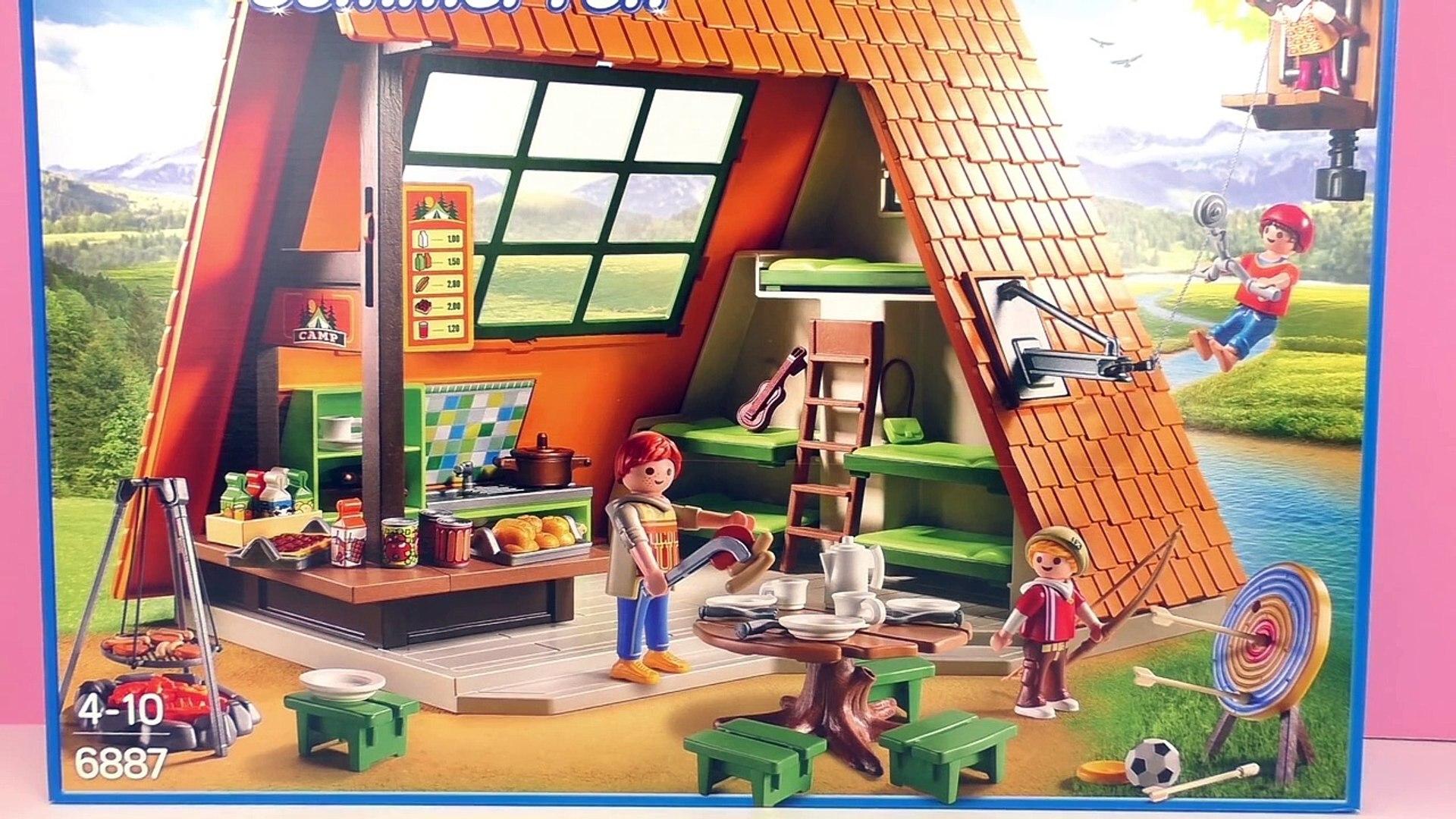 Groot vakantiekamp zomervakantie | Playmobil Summer Fun | Demo