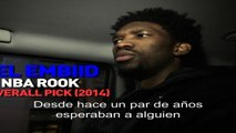 NBA Rooks: Joel Embiid on his Journey - Lat Am Subtitle- NBA World - NTSC