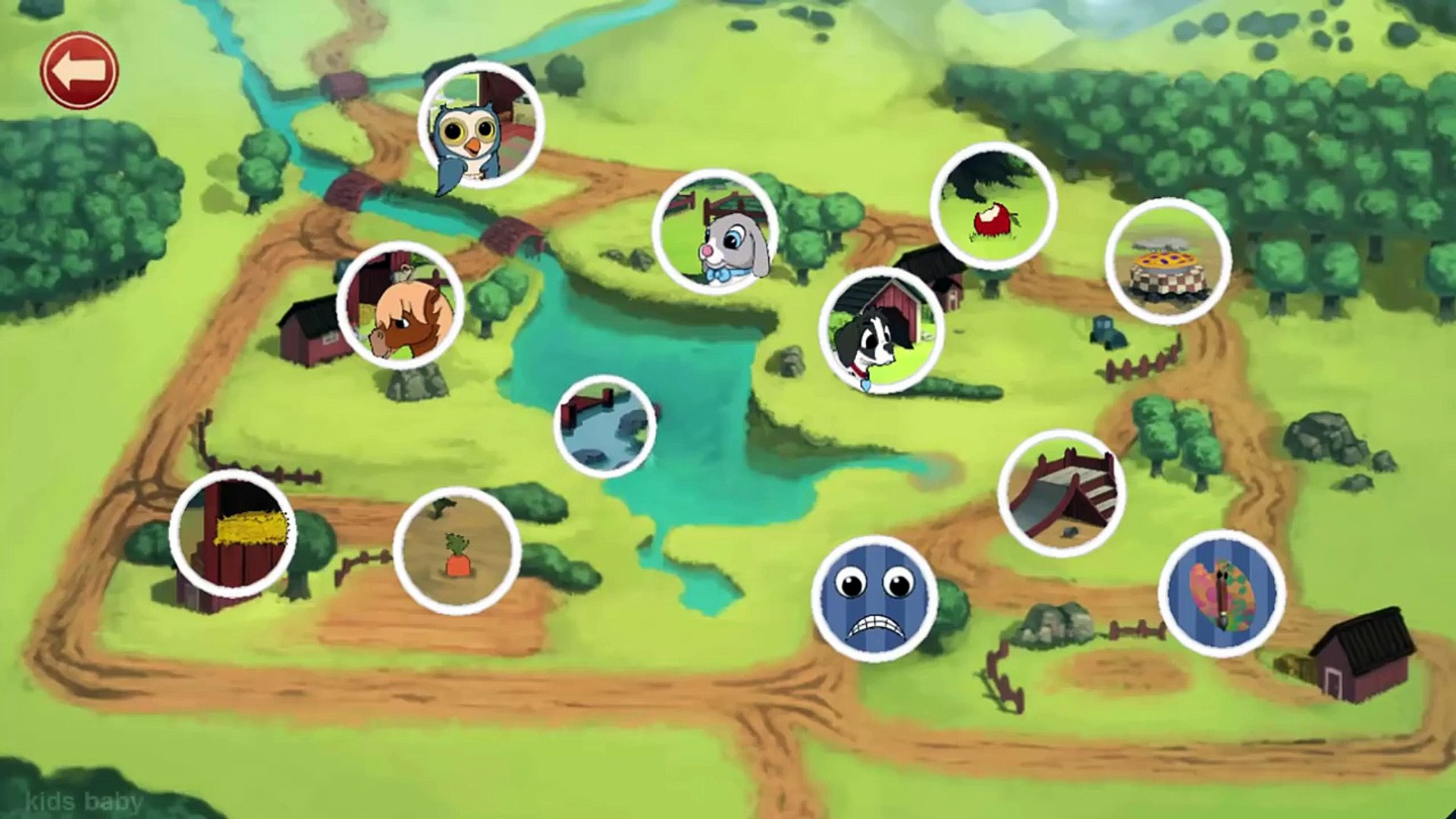 Animals Farm | Educational Friend Animals for Children
