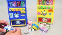 Mundial de Juguetes & Pororo Robocar Poli Drinks Vending Machines Toy