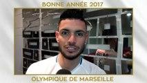 L'Olympique de Marseille vous souhaite une bonne année 2017
