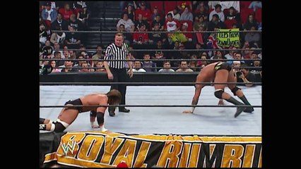 Triple H vs Randy Orton - WWE World Heavyweight Title Match - Royal Rumble 2005