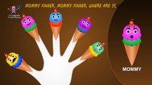 Finger Family Cone Ice Cream   Finger Family Nursery Rhymes   Cone Ice Cream Finger Family Songs