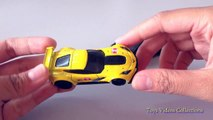 car toys Corvette C7.R TM GM | toy cars Volkswagen the Beetle N0.33 | toys videos collections