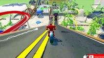 Jogo do Homem Aranha & Groot jogar com carros engraçados- de DC