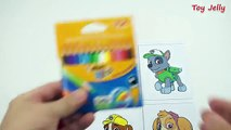 How To Make Paw Patrols Paper Toys With SHRINKLES MAGIC SHRINK PLASTIC Paw Patrols Coloring Pages
