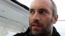 J47 : Fabrice Amedeo a pu réparer sa grand voile / Vendée Globe