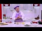 شوربة الجرجير - سلطة دجاج بالبطاطس - مكرونة بصوص السلمون | طبخة ونص حلقة كاملة