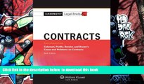 READ book  Casenotes Legal Briefs: Contracts Keyed to Calamari, Perillo, Bender   Brown, 6th
