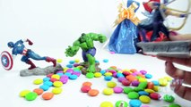 Hulk Ironman Superheroes Toys Surprise Eggs for Children | Captain America Superheroes Surprise Eggs