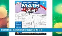 PDF [DOWNLOAD] Carson Dellosa Common Core 4 Today Workbook, Math, Grade 2, 96 Pages (CDP104591)