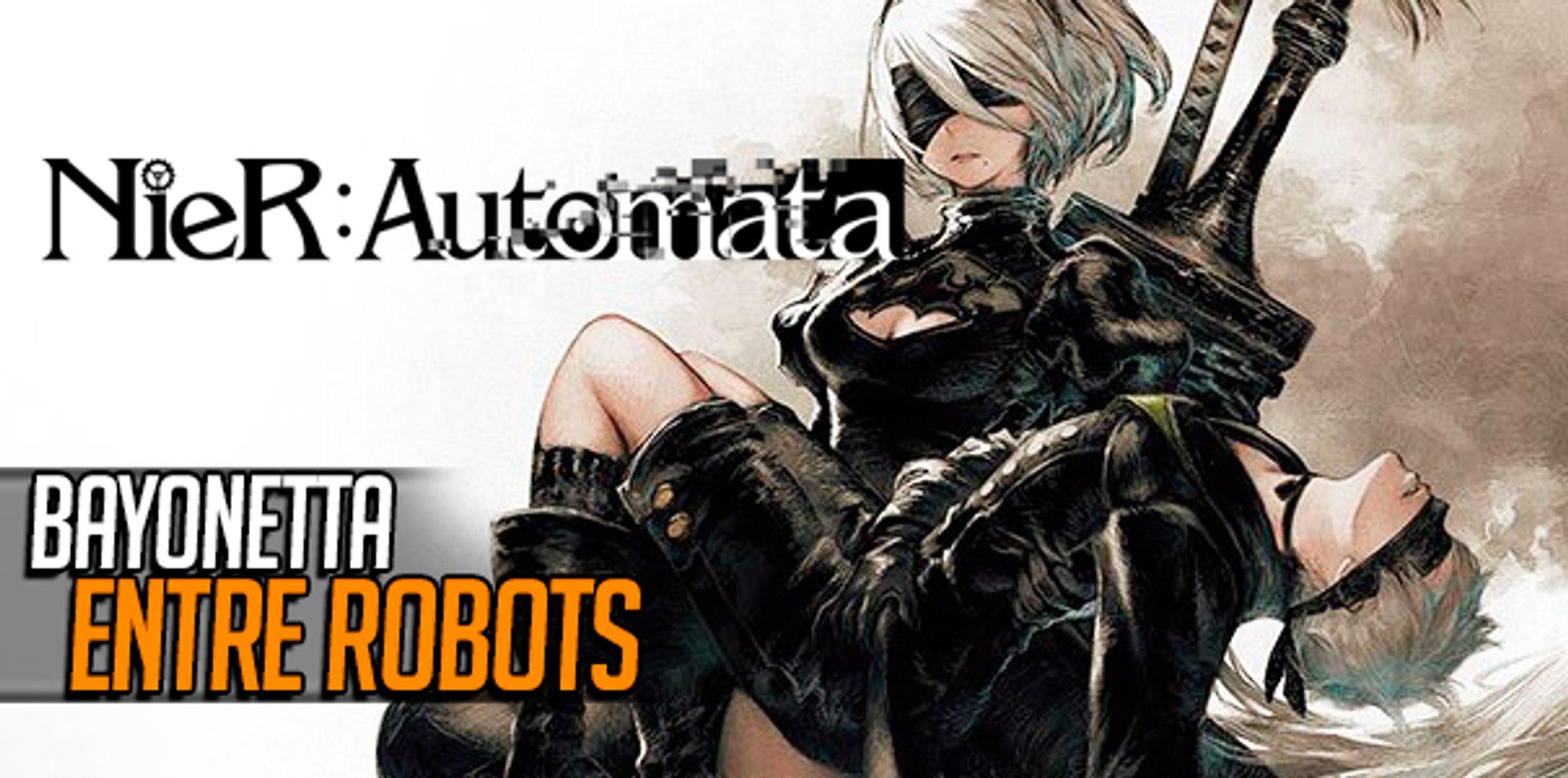 Nier Automata Bayonetta Entre Robots
