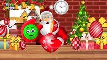 Surprise Eggs   Toy Surprise Santa Claus Eggs   Santa Claus Shapes Song