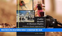 READ book  Public Health and Human Rights: Evidence-Based Approaches (Director s Circle Book)